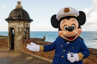 Mickey en el Castillo San Cristóbal en San Juan, Puerto Rico