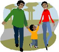 walking-family