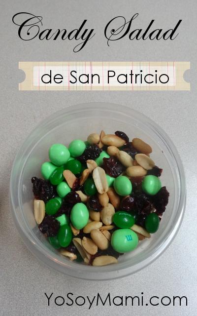 Candy Salad de San Patricio