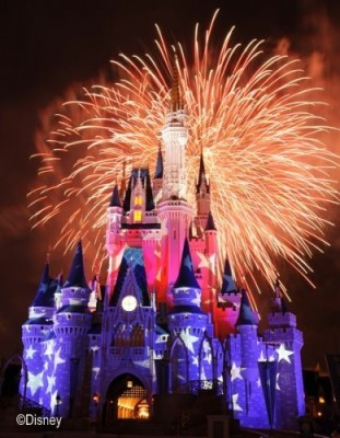 JULY 4TH CELEBRATED AT WALT DISNEY WORLD IN FLORIDA