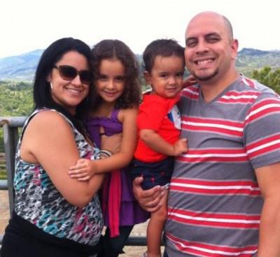 Yaheli y su familia