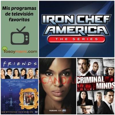 Mis Programas de Televisión Favoritos #BloggerChallenge2014 | Yosoymami.com