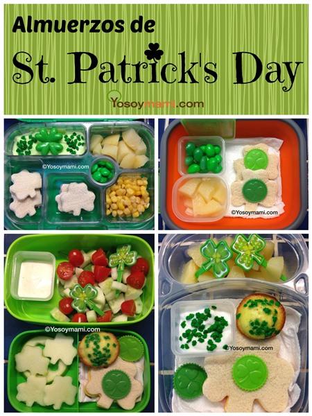 Almuerzos de St. Patrick's Day | Yosoymami.com