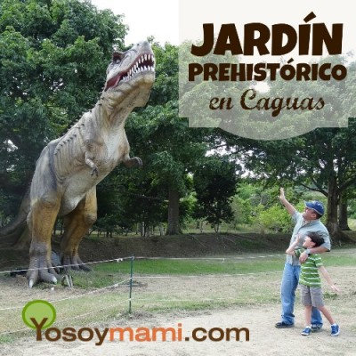 Visita el jard n prehist rico de los dinosaurios en caguas for Como ir al jardin botanico