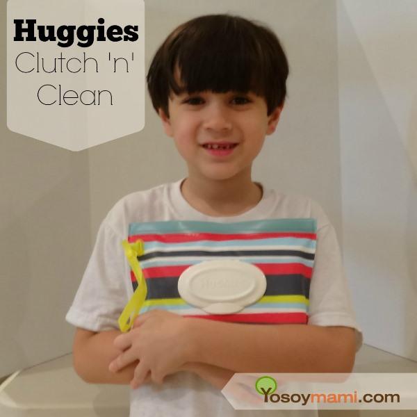 Cartera Reusable Huggies Clutch 'n' Clean - Reseña y Sorteo #huggiespr | Yosoymami.com
