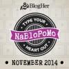 Reto de Blogging Durante Noviembre 2014 #NaBloPoMo | @yosoymamipr