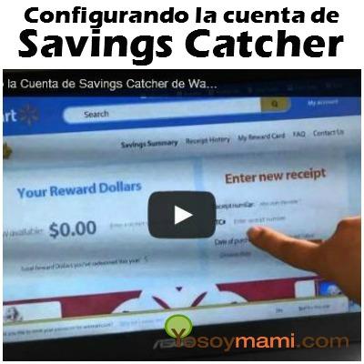 Configurando la Cuenta de Savings Catcher