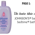 Paso 1 Johnsons Baby Bedtime Bath | @yosoymamipr
