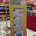Banner promocional en Supermercados Amigo