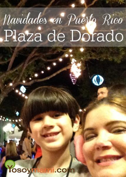 Navidades en Puerto Rico: Plaza de Dorado | @yosoymamipr
