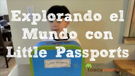 Explorando el Mundo con Little Passports {Video} | @yosoymamipr