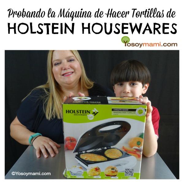 Máquina de Hacer Tortillas de Holstein Housewares Omelette Maker | @yosoymamipr