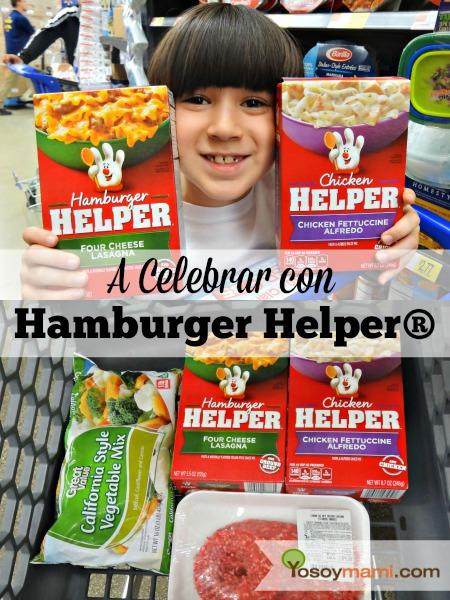 A Celebrar con Hamburger Helper® | @yosoymamipr