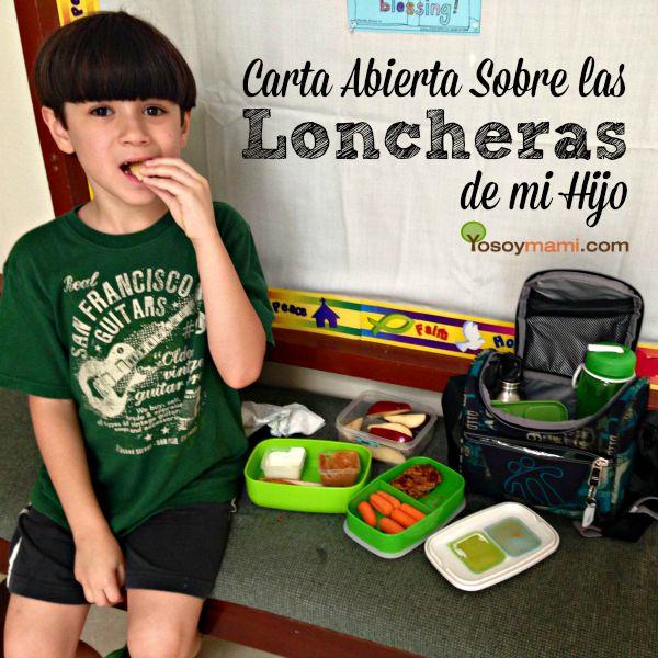 Carta Abierta Sobre las Loncheras de mi Hijo | YoSoyMami.com