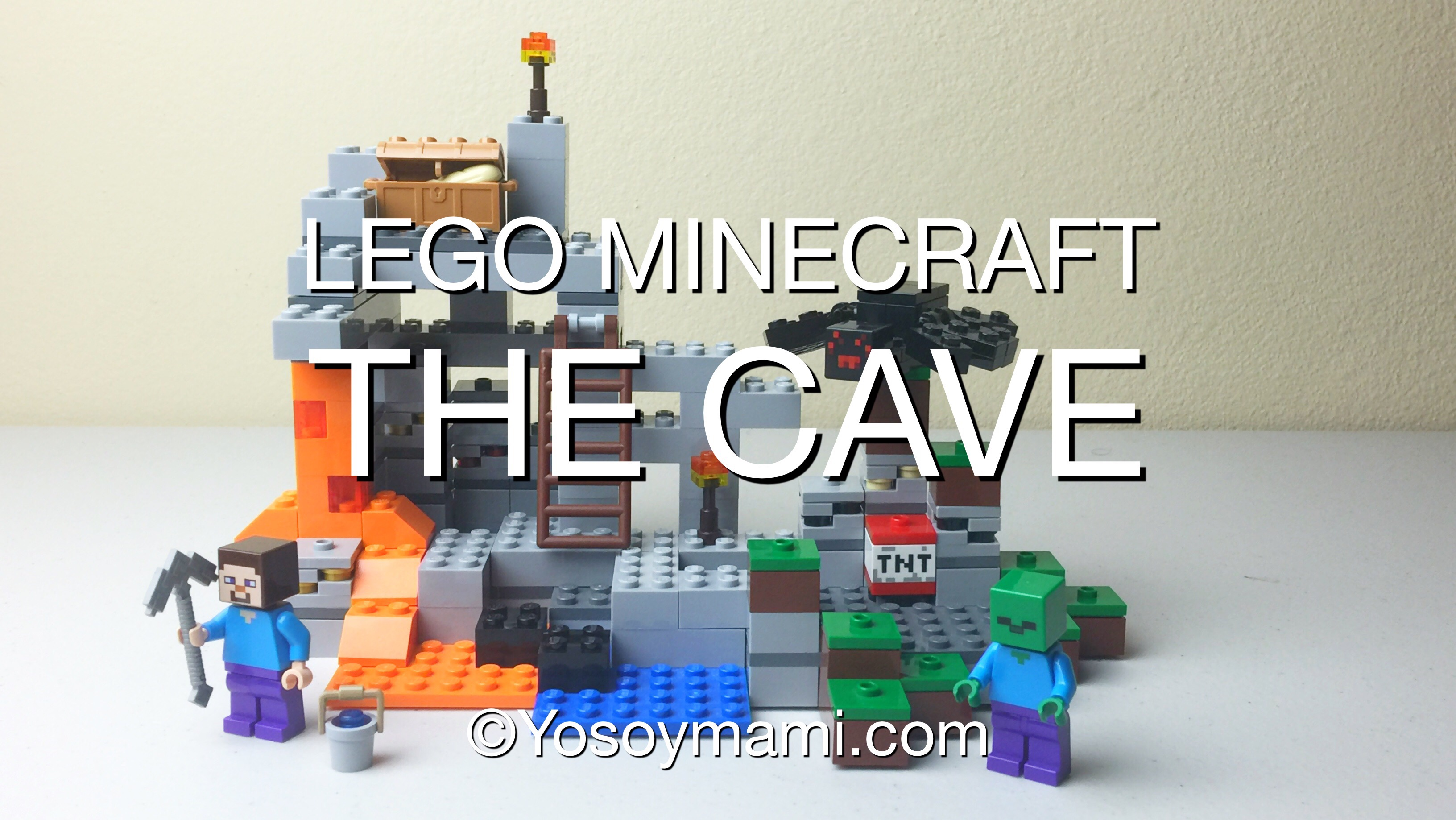 LEGO Minecraft: The Cave Build {Video} | @yosoymamipr