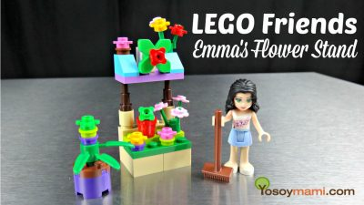 LEGO Friends: Emma's Flower Stand Build {Video} | @yosoymamipr