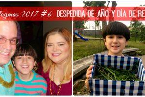Vlogmas 2017 #6 - Despedida de Año y Día de Reyes | @yosoymamipr
