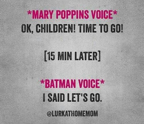 Mary Poppins voice Batman voice | @yosoymamipr