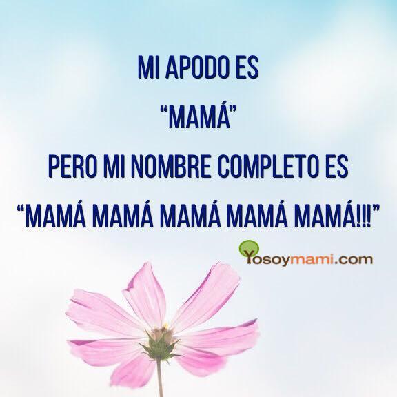 Mi Nombre Completo es Mamá Mamá Mamá Mamá | @yosoymamipr
