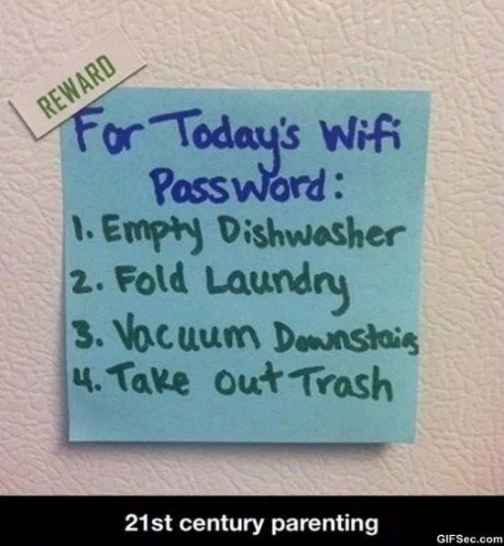 todays wifi password | @yosoymamipr