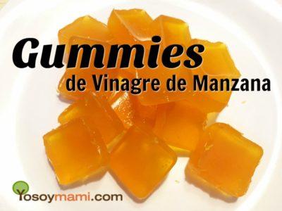 Gummies de Vinagre de Manzana {Receta} | @yosoymamipr