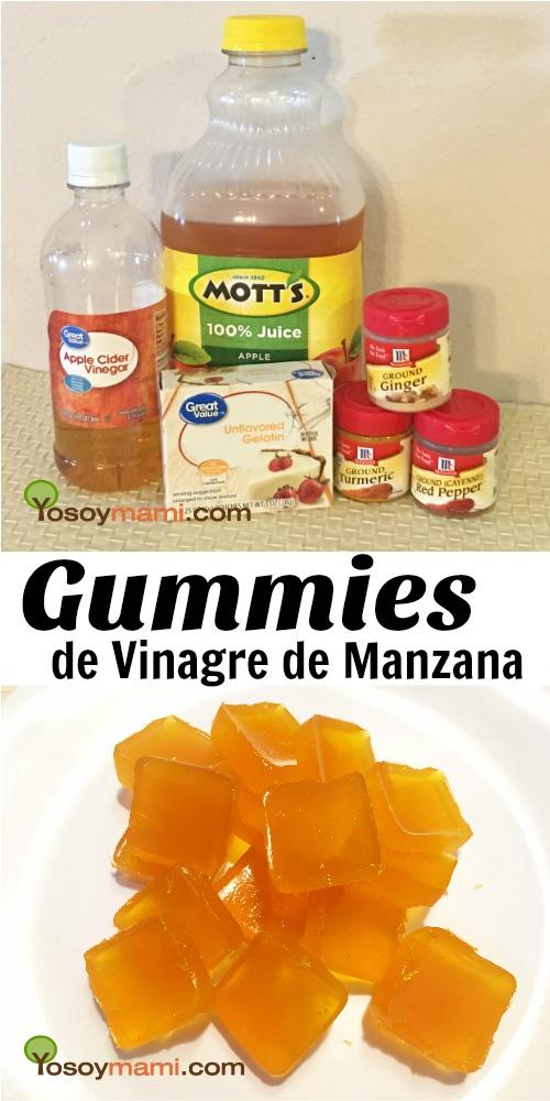 Gummies de Vinagre de Manzana {Receta} - Tu dosis diaria de vinagre de manzana en una gomita!! | @yosoymamipr