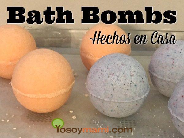 Bath Bombs Hechos en Casa | @yosoymamipr