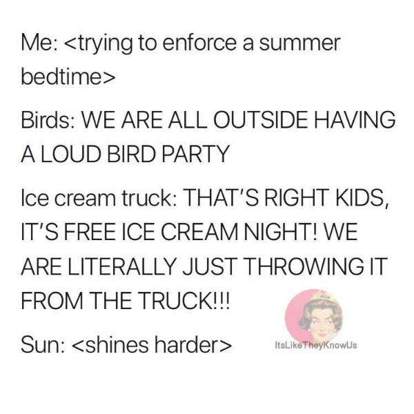 trying to enforce a summer bedtime | @yosoymamipr