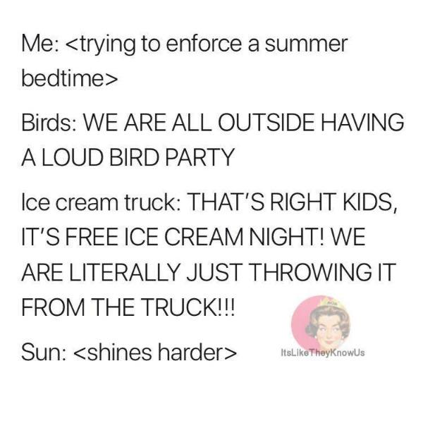 trying to enforce a summer bedtime | @yosoymamipr