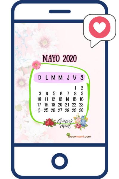Pantalla Móvil de YoSoyMami - Mayo 2020