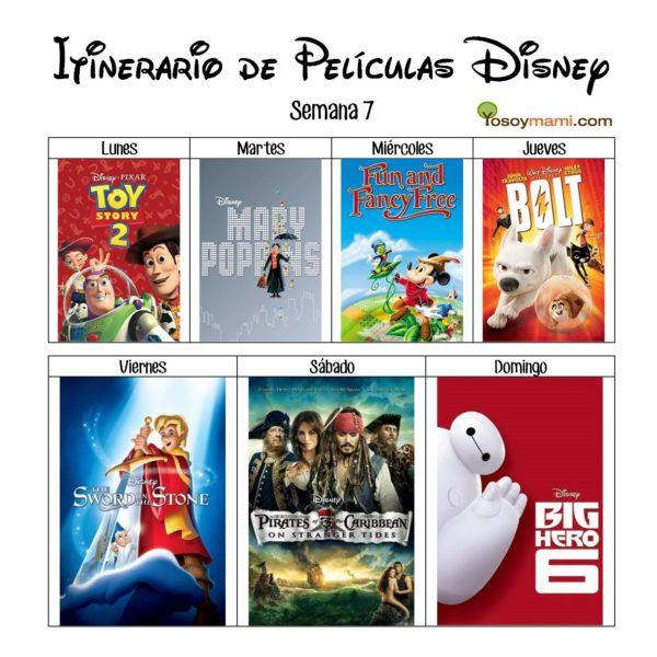 Reto de Películas Disney – Semana 7 | YoSoyMami