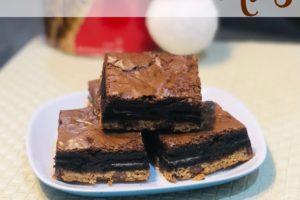 Receta de Triple Decker Brownies | YoSoyMami @zelmarl